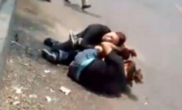 Video: Mujeres del PAN a las piñas en Xochimilco