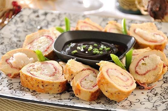 Menú Día de la Madre: Pechugas de pollo rellenas de salami