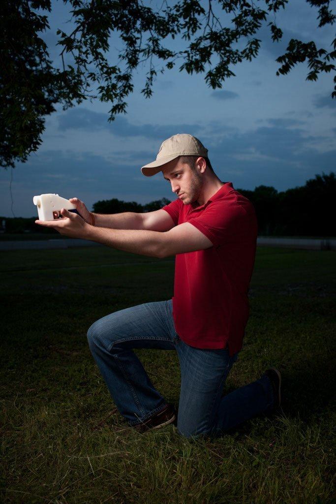 Crean la primera pistola plástica con una impresora 3D