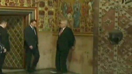 Video: Presidente de la República Checa borracho en evento oficial