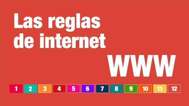 Cuáles son las reglas que rigen en internet