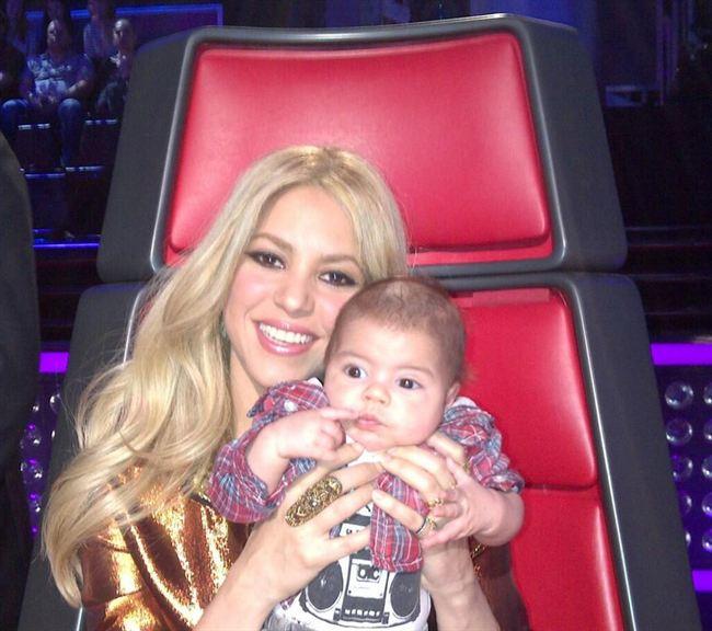 Shakira abandona 'The Voice' por Milan y Gerard Piqué