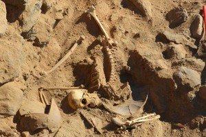 Encuentras restos de un soldado de hace 1.400 años