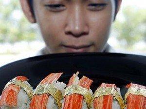 Cómo se prepara el sushi más caro del mundo
