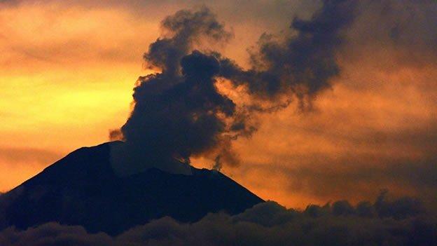 ¿Las cenizas de volcanes contaminan?