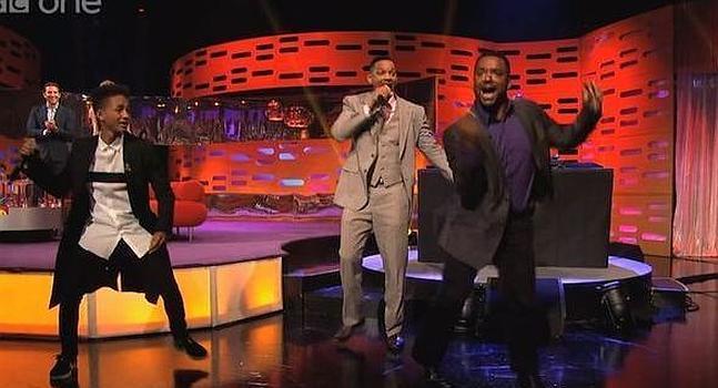 Video: Will Smith y su hijo Jaden rapean en TV