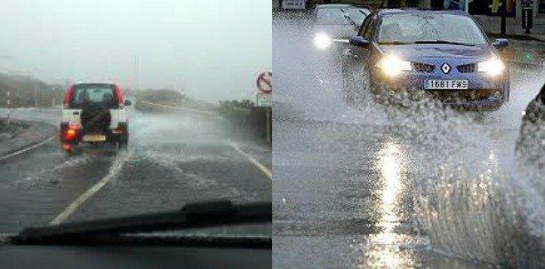 Tips para conducir de forma segura en temporada de lluvias