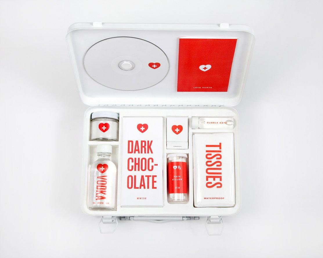 Un botiquín de primeros auxilios para una ruptura amorosa