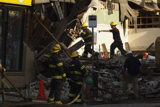 Video: Derrumbe de edificio en Filadelfia deja seis muertos