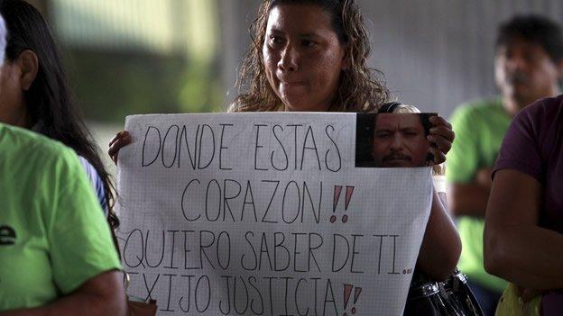 Cómo son las desapariciones en México
