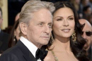 ¿Catherine Zeta-Jones contagió a Michael Douglas?