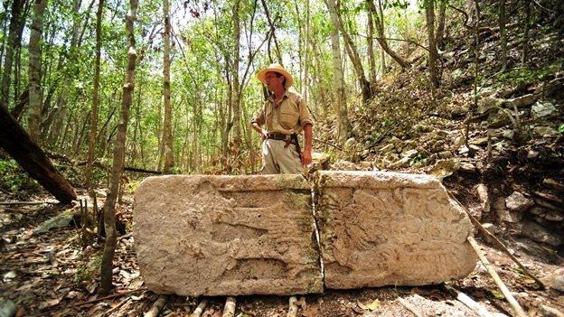Hallan 19 estelas mayas en Campeche - Fotos
