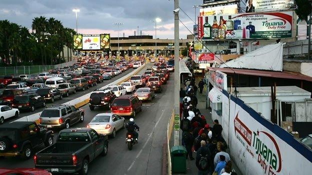 Cuál es la frontera más transitada del mundo