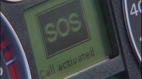 Autos con llamadas automáticas de urgencias