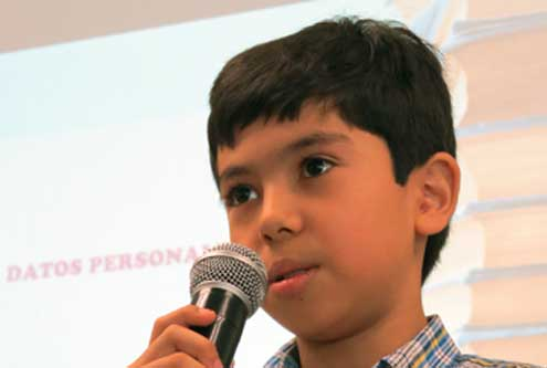 Niño mexicano de once años estudiará en Harvard