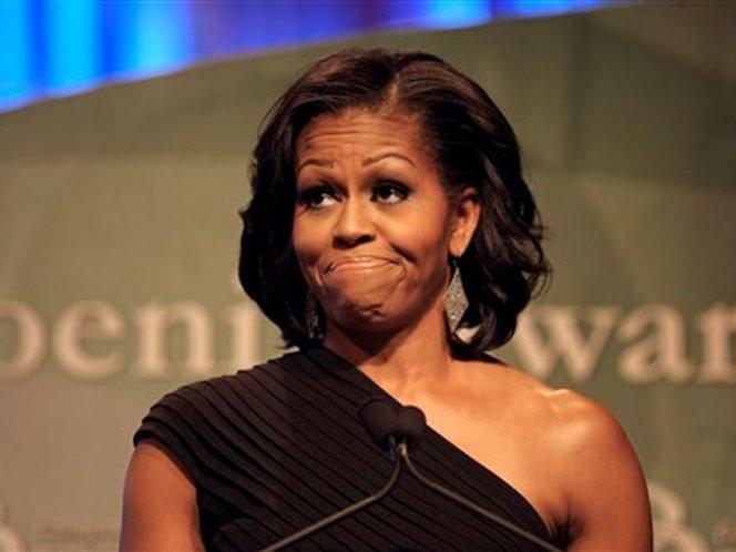 Video: La furia de Michelle Obama contra una manifestante
