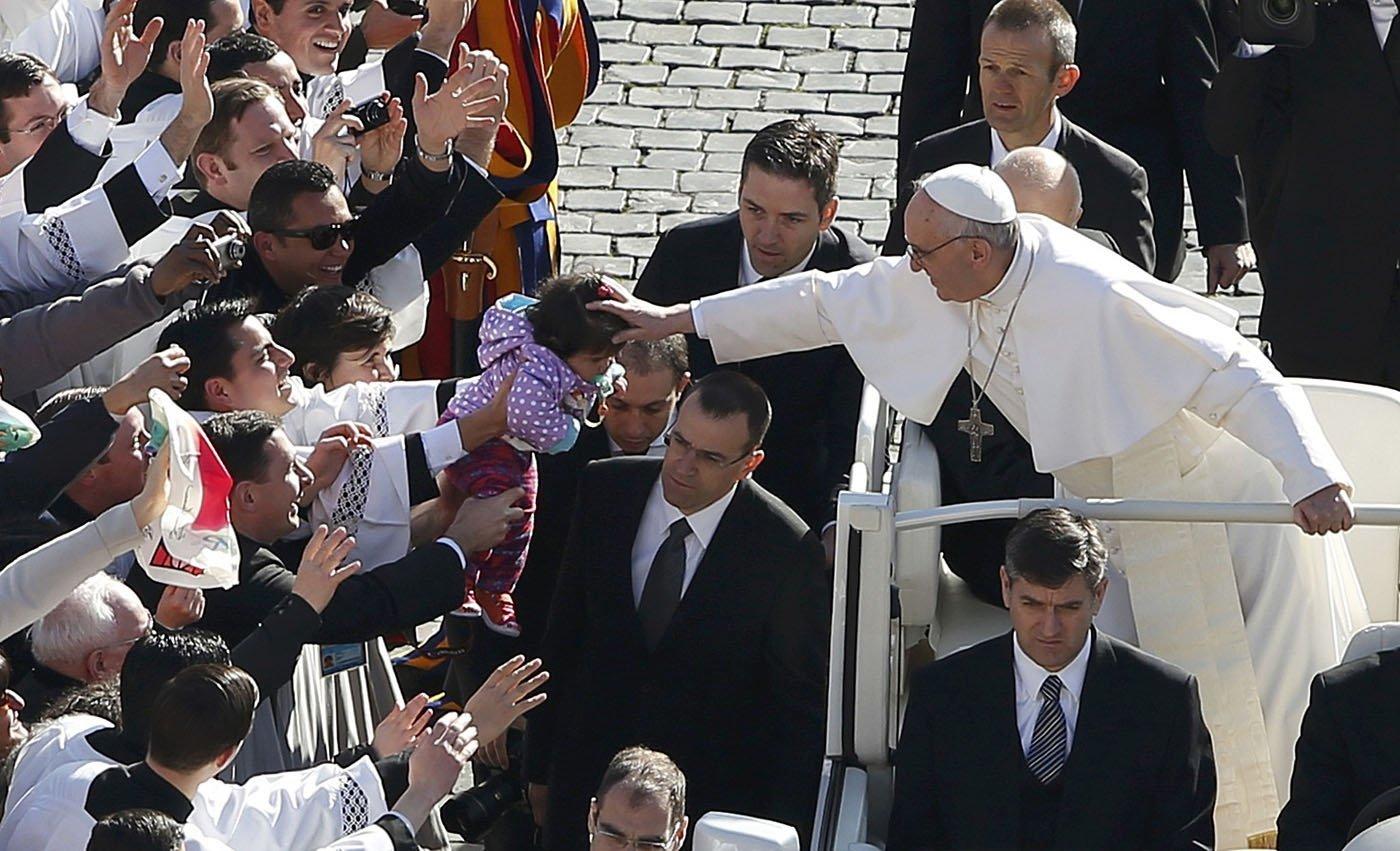 Sitios VIP para ver al Papa Francisco - Precios