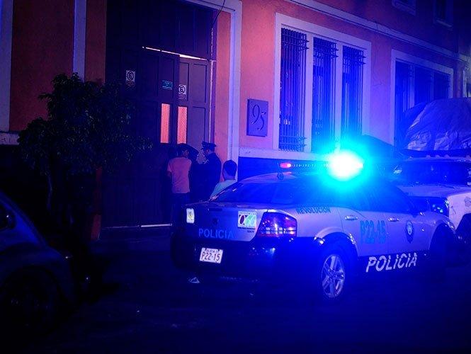 Ladrón se tira de un cuarto piso al ser descubierto por la policía