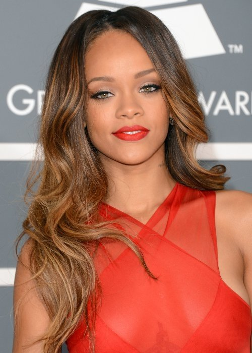 Rihanna golpea con un micrófono a un fan - Video