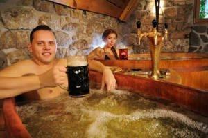 Insólita nueva manera de gozar la cerveza