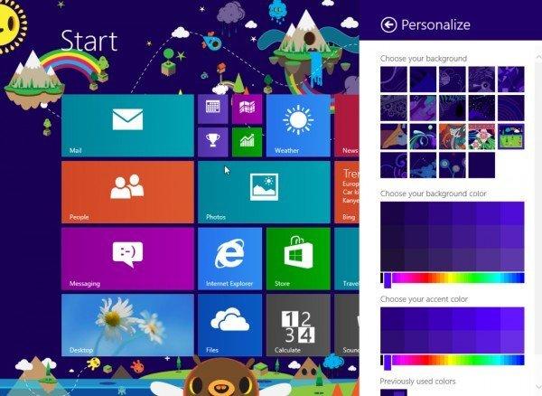 Así es Windows 8.1 de Microsoft