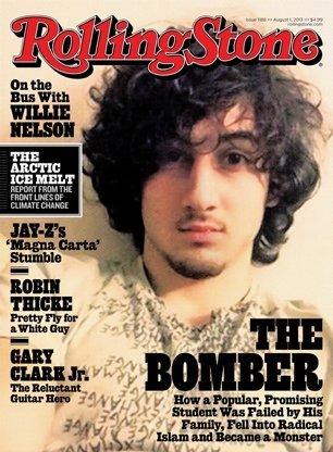 Polémica portada de Rolling Stone con coautor de atentados de Boston
