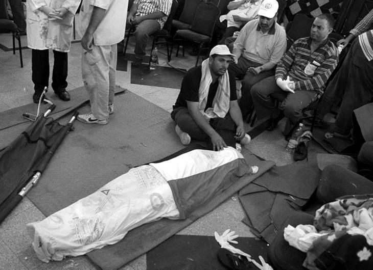 42 muertos y 300 heridos en Egipto por enfrentamientos - Fotos