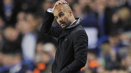 Pep Guardiola furioso con el FC Barcelona