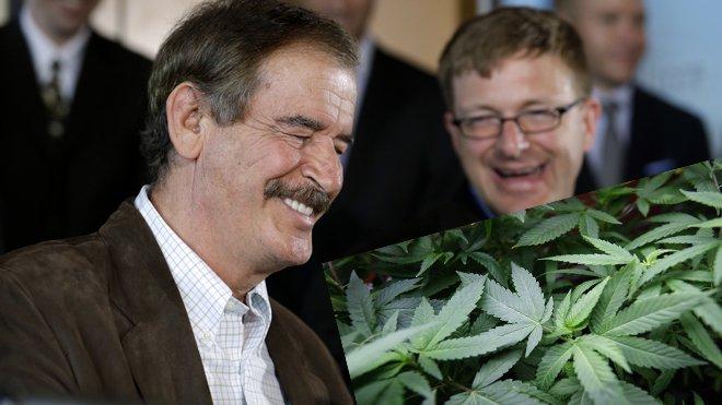 Vicente Fox utiliza la Biblia para promover la marihuana