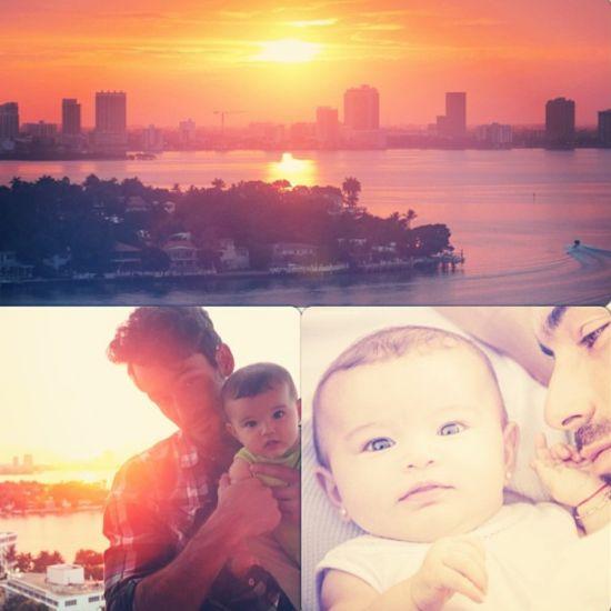 Fotos hermosas: la hija de Aaron Díaz y Lola Ponce