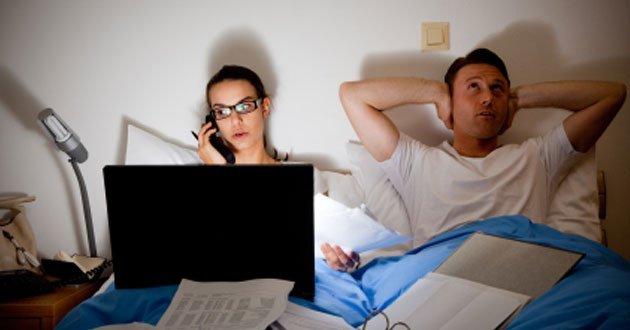 ¿Ser adicto al trabajo es sinónimo de productividad?