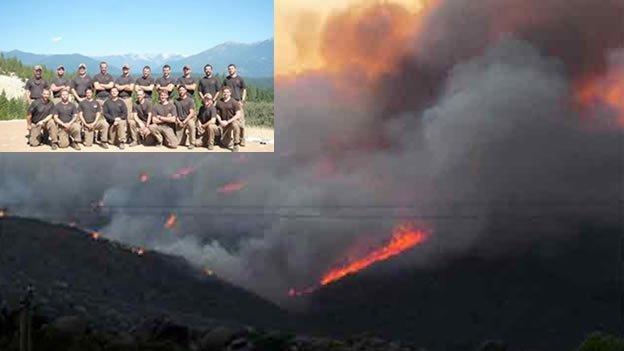 19 bomberos mueren en un incendio en Arizona