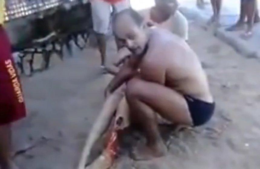 Video fuerte: Tiburón ataca y mata a una joven