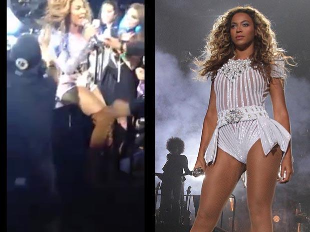 Video: Ventilador le come el pelo a Beyoncé