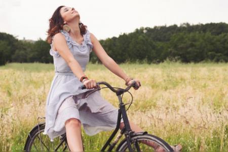 Un vibrador para asiento de bicicleta - Ciclismo placentero