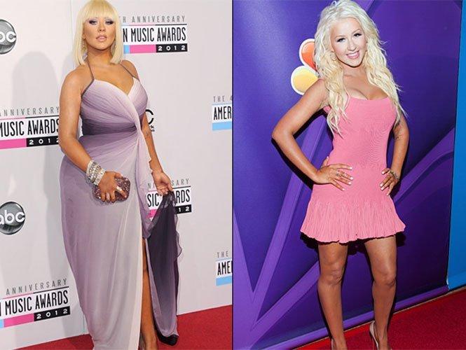 Christina Aguilera bajó 20 kilos - Fotos