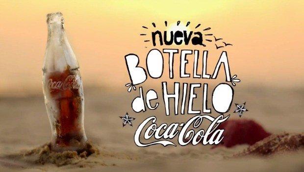 Nueva botella de Coca-Cola evita que se caliente la bebida