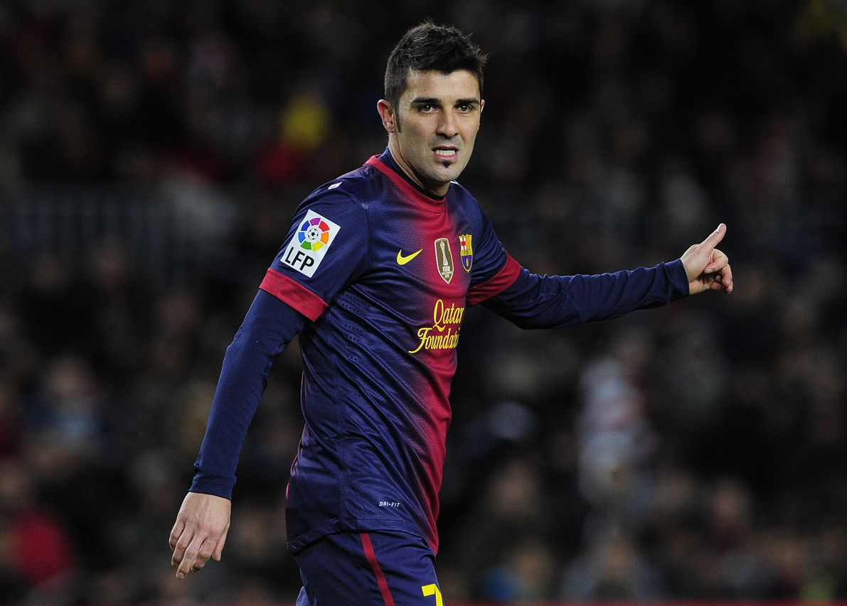David Villa deja el FC Barcelona