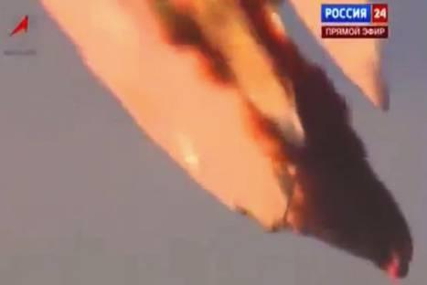 Video: Explota cohete espacial tras su lanzamiento