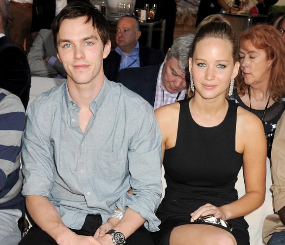 Jennifer Lawrence y Nicholas Hoult vuelven a ser novios