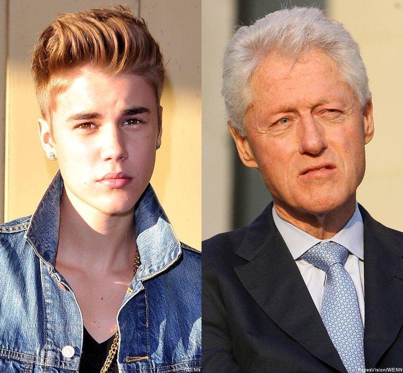 Justin Bieber se disculpa con Bill Clinton