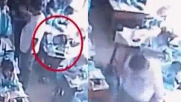 Video aberrante: Maestro golpea a alumna hasta dejarla inconsciente