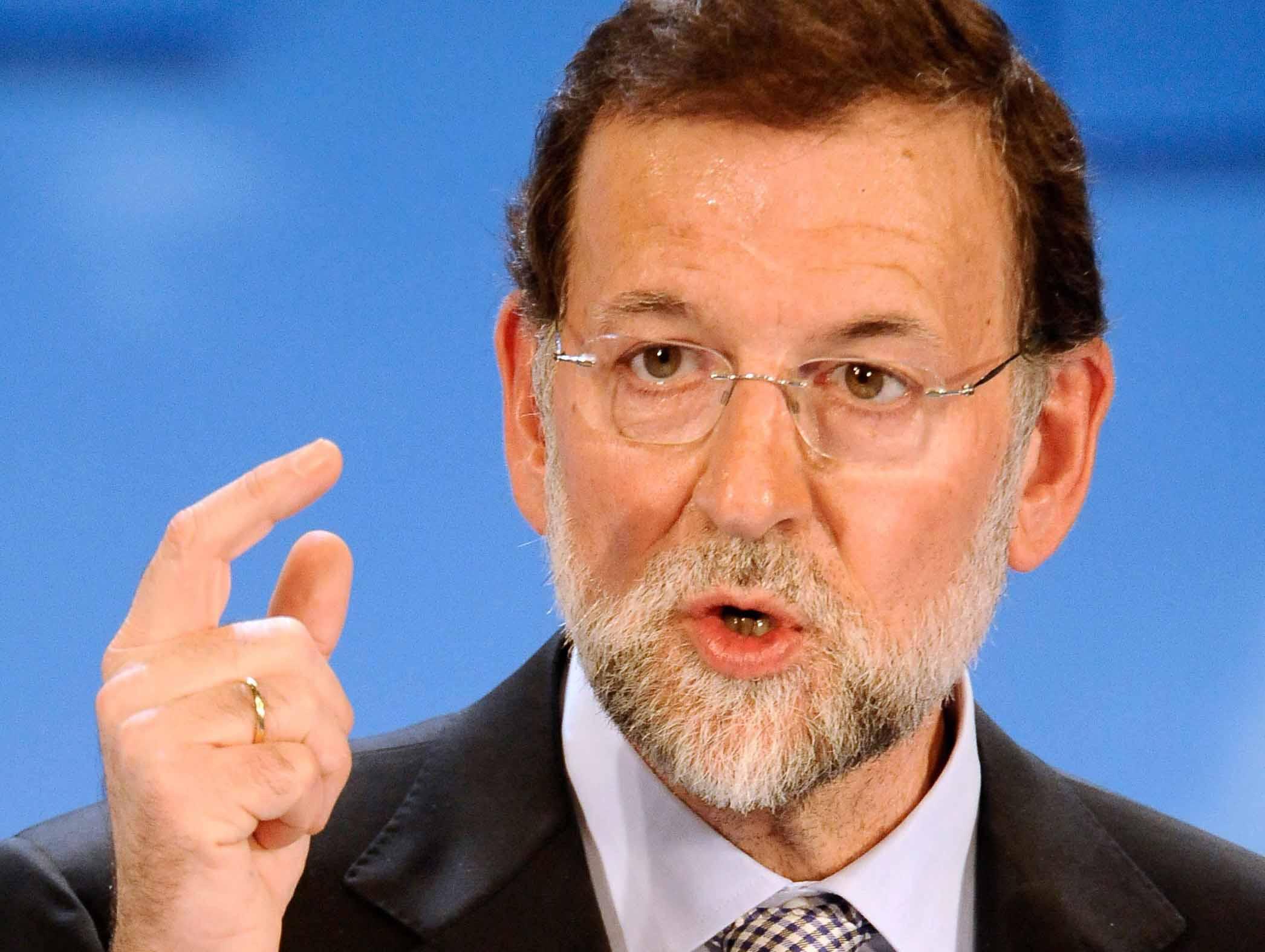 ¿Mariano Rajoy renuncia en medio de la crisis?