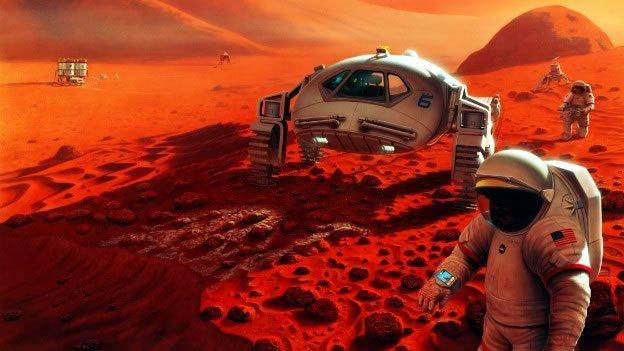 Enterate cómo es la atmósfera en Marte