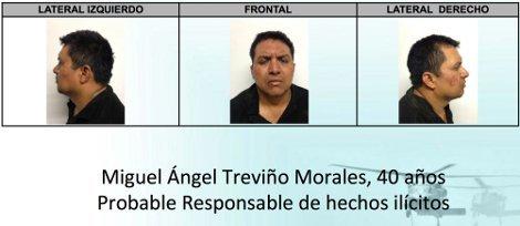 Conoce el perfil de Miguel Ángel Treviño Morales, el 'Z-40'