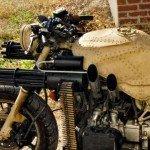 Fotos: así es la motocicleta contra zombies