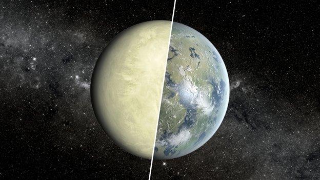 Cómo busca la NASA un planeta habitable