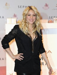 Fotos y video: Shakira en bikini