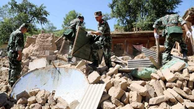 China: sismo deja 89 muertos y decenas de heridos - Fotos