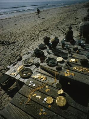 Encuentran tesoro de 250,000 dólares a metros de la costa